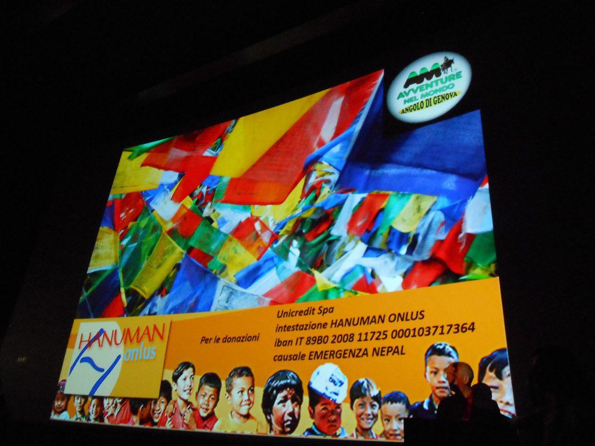 Serata benefica Nepal