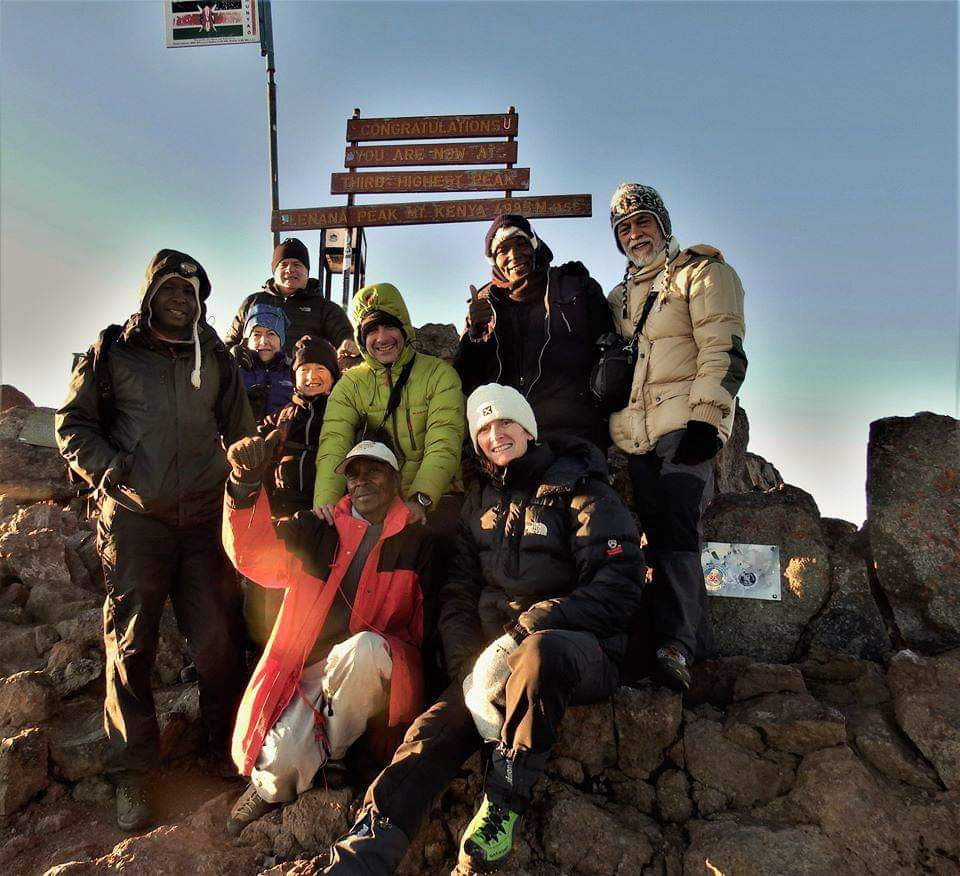 2020 - Monte Kenia - Gr. Ottonello
